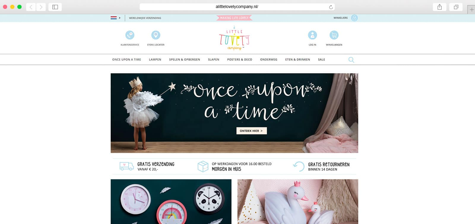 A-Little-Lovely-Company-homepage